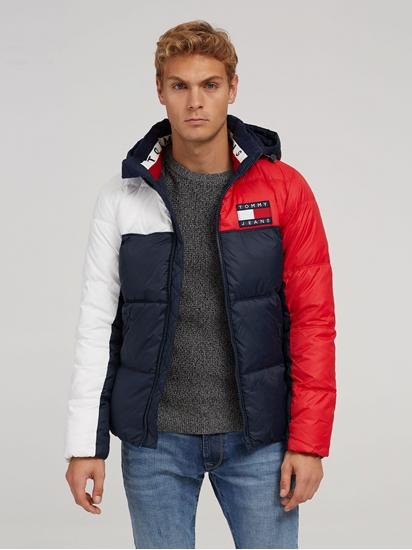 La veste matelassée bloc denim