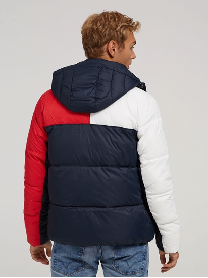 Bild von Wattierte Steppjacke in Colourblock-Optik