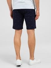 Bild von Shorts mit Print und Gürtel