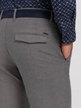 Image sur Pantalon Slim-Fit texturé