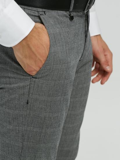 Image sur Pantalon chino motif à carreaux BRYAN