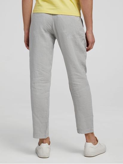 Image sur Pantalon lin Tapered Fit