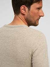 Image sur Pullover maille Slim Fit texturé