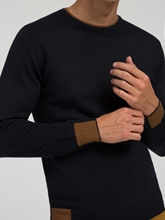 Image sur Pullover rayures contrastes