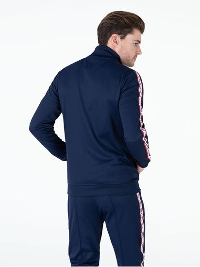 Image sur Veste de jogging avec rayures et logo