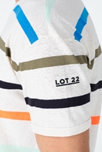 Bild von T-Shirt aus Flammgarn mit Streifen