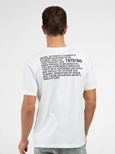 Image sur T-shirt avec imprimé