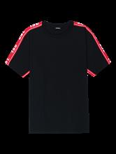 Bild von T-Shirt mit Logo-Streifen