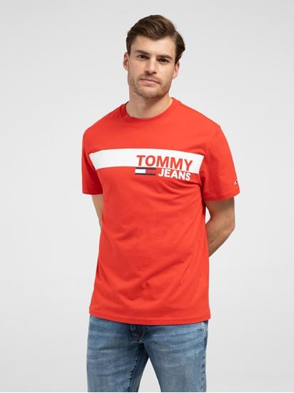 Image sur T-shirt Regular Fit avec logo imprimé