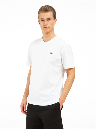 Bild von T-Shirt aus Piqué mit Logo