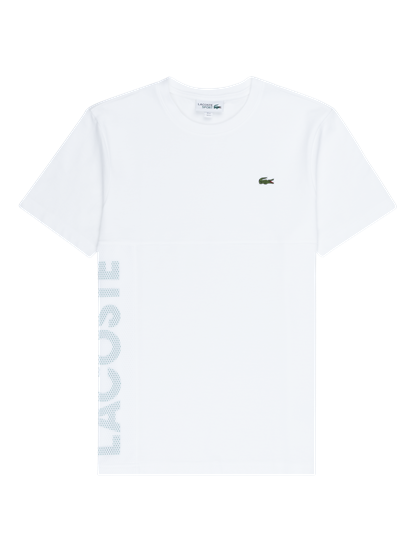 detailed look 6c090 f74c7 T-Shirt mit Netzeinsatz und Logo
