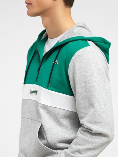 Image sur Veste sweatshirt avec effet  colourblock