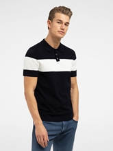 Bild von Polo-Shirt mit Blockstreifen