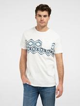 Bild von T-Shirt mit Ethno-Print und Brusttasche