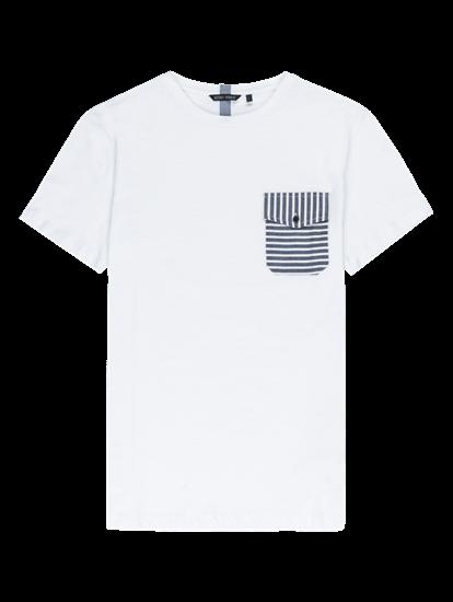 Bild von T-Shirt aus Flammgarn mit Brusttasche