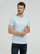 Image sur T-shirt avec logo imprimé