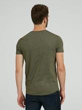 Bild von T-Shirt in melierter Optik
