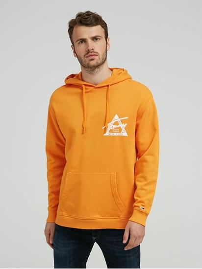 Image sur Sweatshirt à capuche imprimé