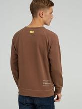 Image sur Sweatshirt mit Logo-Print