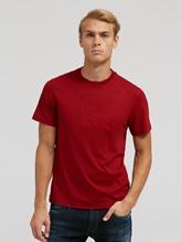 Bild von T-Shirt im Regular Fit mit Logo-Stickerei