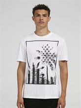 Image sur T-shirt oversized Fit imprimé
