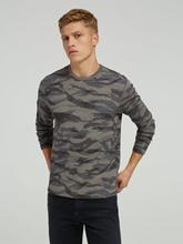 Bild von Shirt mit Camouflage-Print
