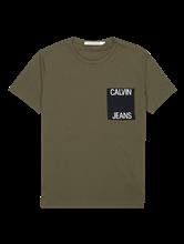 Image sur T-shirt avec poche poitrine