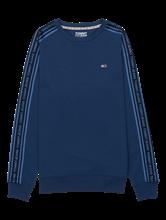 Bild von Sweatshirt mit Logo-Streifen am Ärmel