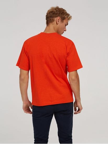 Bild von T-Shirt mit Logo-Stickerei