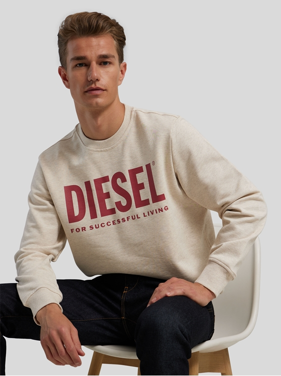Bild von Sweatshirt mit Logo Print