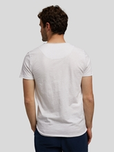 Image sur T-shirt fil flammé KONRAD