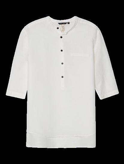 Bild von Hemd im Loose Fit mit Mao-Kragen