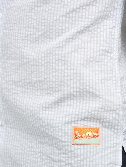Bild von Hemd im Regular Fit aus Seersucker mit Karo