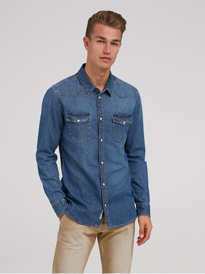 Image sur Chemise en jean Regular Fit