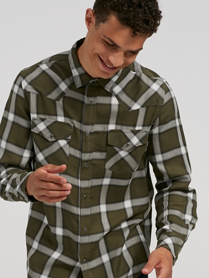 Image sur Chemise à carreaux