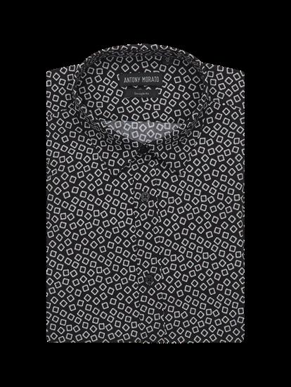Bild von Hemd im Straight Fit mit Print