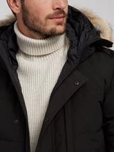 Image sur Parka en duvet avec bordure de capuche en fourrure amovible  CARSON