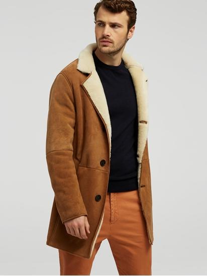 Image sur Manteau cuir peau de mouton