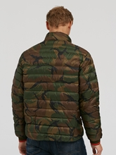 Bild von Daunenjacke mit Camouflage-Print