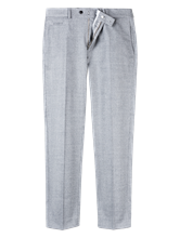 Bild von Hose im Regular Fit mit Micro-Muster