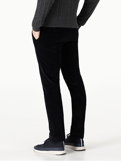 Image sur Pantalon velours côtelé Slim Fit TARENT