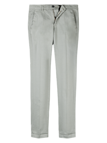 Image sur Pantalon chino Slim Fit texturé