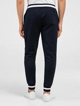 Image sur Pantalon sweat avec cordon de serrage et rayures