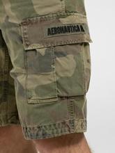 Bild von Cargoshorts mit Camouflage-Print