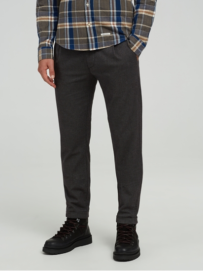 Image sur Chino Tapered Fit texturé