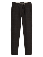Image sur Chino Tapered Fit motif Prince-de-Galles