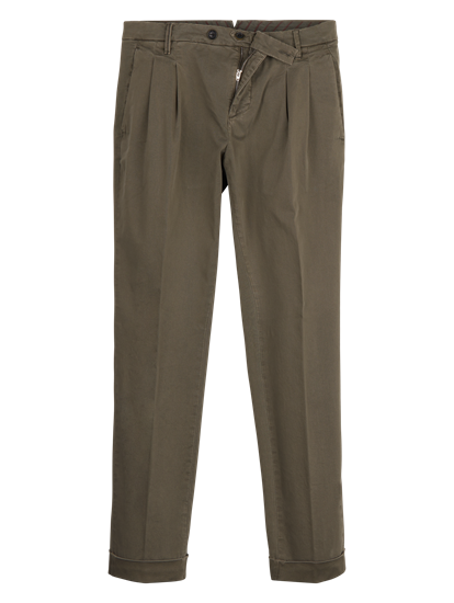 Image sur Pantalon chino à plis JOHANNES