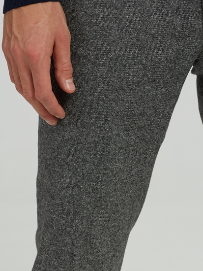 Bild von Hose im Slim Fit in melierter Optik FELIX