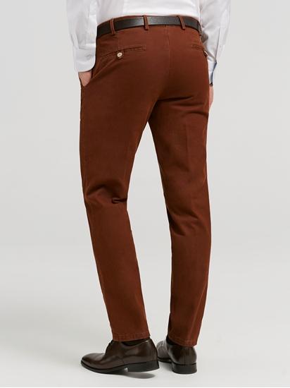 Image sur Pantalon chino texturé TIERRE