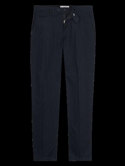 Image sur Pantalon chino Regular Fit à micro-motif